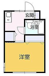 プラムガーデン[2階]の間取り