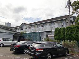 東京都八王子市丹木町2丁目の賃貸アパートの外観
