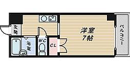 クレストコート新金岡[1階]の間取り