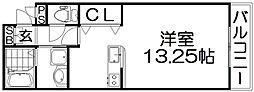 コンフォルト津田[3階]の間取り