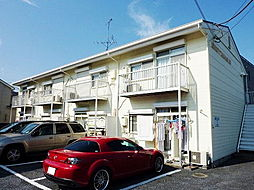 埼玉県草加市稲荷3の賃貸アパートの外観