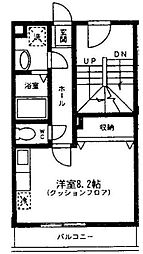 N[3階]の間取り