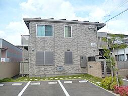 福岡県大野城市雑餉隈町2丁目の賃貸アパートの外観