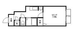 アメニティハウス・サノ[1階]の間取り
