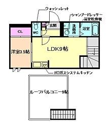 GRANDTIC SELECTIII[2階]の間取り