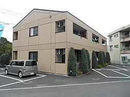 埼玉県入間郡毛呂山町岩井東2丁目の賃貸アパートの外観