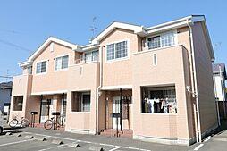 静岡県磐田市明ケ島原の賃貸アパートの外観