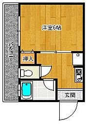 赤坂丸ビル[4階]の間取り