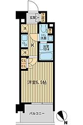 BLESS上池袋 418号室[4階]の間取り