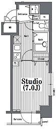 ガラ・グランディ日本橋[12階]の間取り