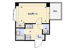リイド22[4階]の間取り