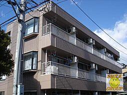 千葉県市川市八幡6丁目の賃貸マンションの外観