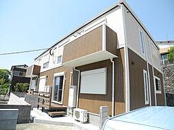 長崎県長崎市鳴滝2丁目の賃貸アパートの外観