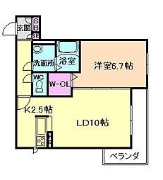 Shamaison Noa I[3階]の間取り