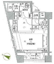 NAVIUS東日本橋I番館 〜ナビウス東日本橋I番館〜[5階]の間取り
