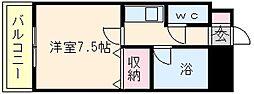 サンシティ箱崎九大前[513号室]の間取り