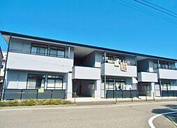 長野県松本市大字笹賀の賃貸アパートの外観