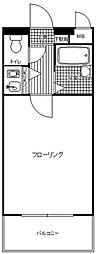 ロマネスク井尻第2[1階]の間取り