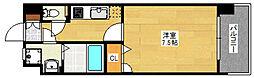 エンクレスト天神東III[3階]の間取り
