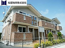 愛知県豊橋市川崎町の賃貸アパートの外観