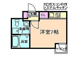 ウィステリア野田1番館[3階]の間取り