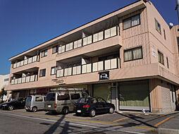 滋賀県彦根市平田町の賃貸マンションの外観