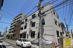 東京都江戸川区中葛西3丁目の賃貸アパートの外観
