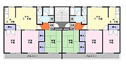レインボーハウス[1階]の間取り