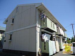 千葉県市川市広尾1丁目の賃貸アパートの外観