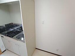 クレアドル須磨Ⅱの冷蔵庫置き場