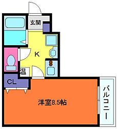 SANKOガルフタワー[11階]の間取り