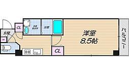 リバーライズ東小橋II[3階]の間取り