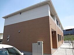 東京都八王子市元八王子町2丁目の賃貸アパートの外観