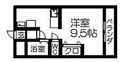 メゾン吉田[307号室]の間取り