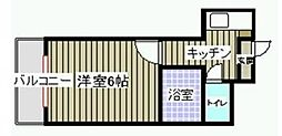 新日本パレス姪浜II[302号室]の間取り