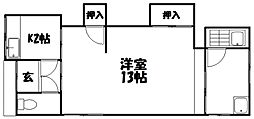 [テラスハウス] 大阪府枚方市南船橋2丁目 の賃貸【大阪府 / 枚方市】の間取り