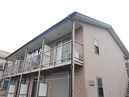 埼玉県草加市吉町1の賃貸アパートの外観