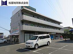 愛知県豊橋市曙町字測点の賃貸マンションの外観