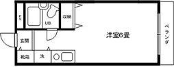 アメニティ5[2階]の間取り
