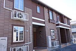 新潟県新発田市東新町4丁目の賃貸アパートの外観