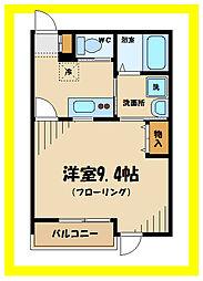 グッドネス2[1階]の間取り