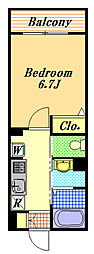 ルミエールメゾン[3階]の間取り