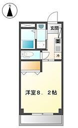 フォレストハウス[302号室]の間取り
