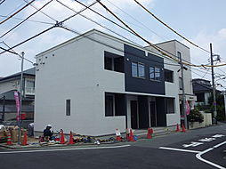 東京都八王子市片倉町の賃貸アパートの外観