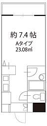 ドミール駒大駅前[1階]の間取り