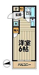 TOP大船No.1[2階]の間取り