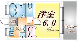 リバージュ須磨浦[2階]の間取り