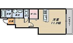 大阪府和泉市太町の賃貸アパートの間取り