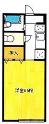 シテラピーヌ[1階]の間取り