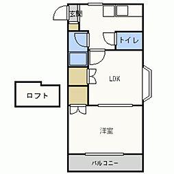 ドール友丘2[105号室]の間取り